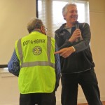 The Rotary logo is featured on our Adopt-A-Highway safety vests.