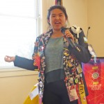 Mei describes the Rotary District Conference she'd like to attend in April.