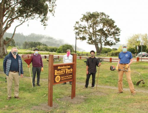 4/23/20 Rotary Park – New Signs